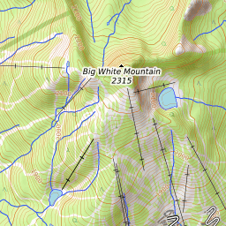 Big White Mountain Weather Forecast (2315m)