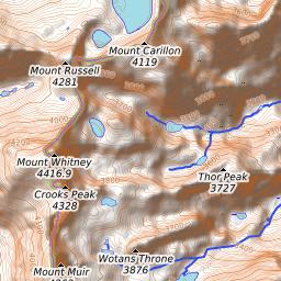 Mount Whitney Weather Forecast (4418m)