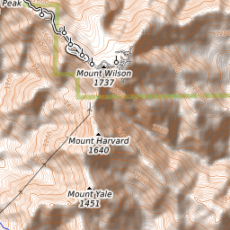Mount Wilson (California) Weather Forecast (1741m)
