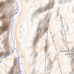 Apache County Arizona Map.Mount Ord Apache County Arizona Mountain Information
