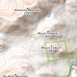 McKenzie Mountain Weather Forecast (1177m)