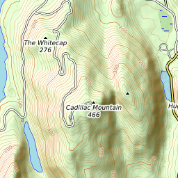 Cadillac Mountain Mountain Information on