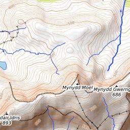 Cadair Idris Weather Forecast (893m)