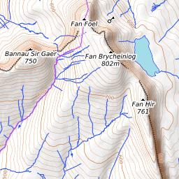 Fan Hir Mountain Information