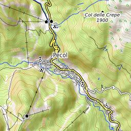 Map Australia 4371.Civetta Mountain Information
