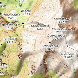 Schneeberg (Alps) Mountain Information