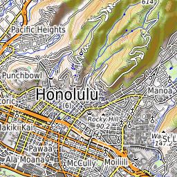 Tantalus (Oahu) Weather Forecast (2014m)
