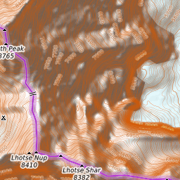 Mount Everest Weather Forecast (8850m)